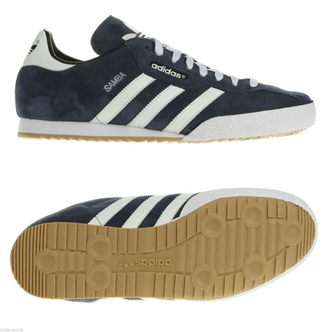 adidas originals samba suede mens trainers shoes navy sizes 7 12 new ebay