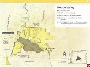 rogue valley oregon map launching summer 2016 a new oregon wine education website