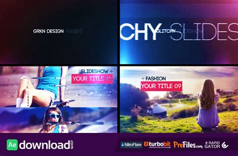 glitch slideshow videohive project free download