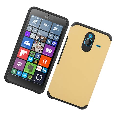 Microsoft Lumia 640 Casing Cover Hybrid Armor Soft Bumper for nokia lumia 640 xl slim thin hybrid grip soft tough armor cover ebay
