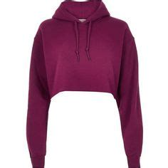 Hoodie Crop Polos Fleece Wanita Size M h m hooded top 11 liked on polyvore featuring