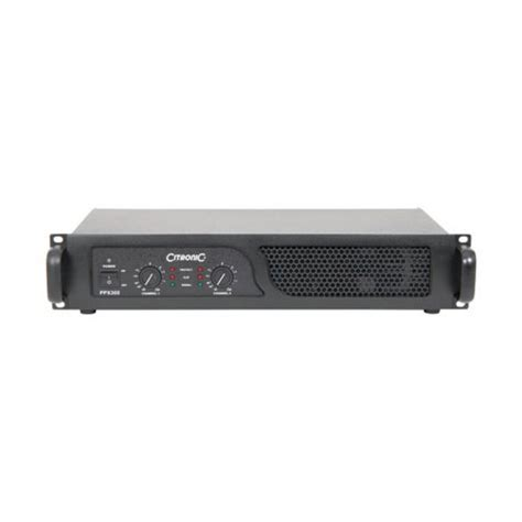 Power Lifier 21 Stereo 150 X 2 300 Watts Subwoffer 200 Watts citronic ppx300 2u power lifier 172 203uk tradeworks