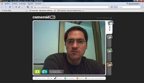 cameroid camara cameroid scattare foto direttamente dal browser giovy s