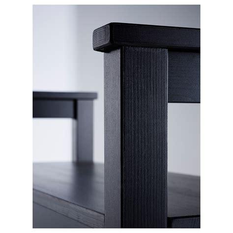 ikea hemnes storage bench hemnes bench with shoe storage black brown 85x32 cm ikea