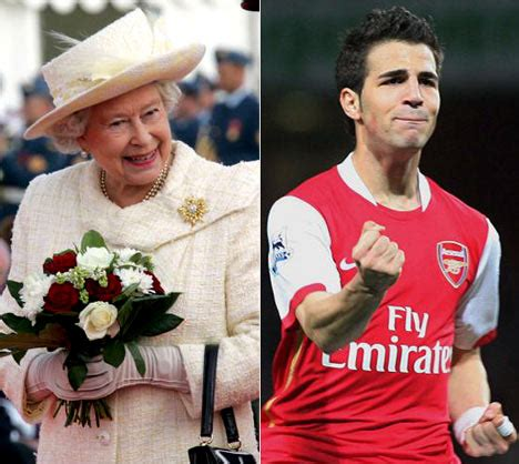 arsenal queen the queen is a self confessed arsenal fan daily mail online