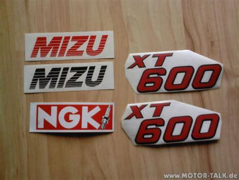 Aufkleber Yamaha Xt 600 by Xt 600 Aufkleber Yamaha Logos Biete Motorrad