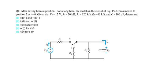 capacitor calculus questions finding voltage and current across a capacitor will you check my work electronicsxchanger