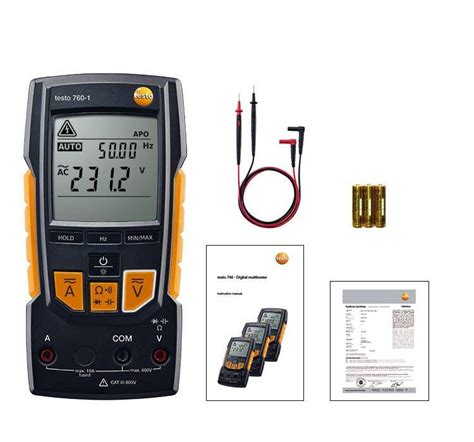 resistance testo testo 760 1 digital multimeter resistance electrical