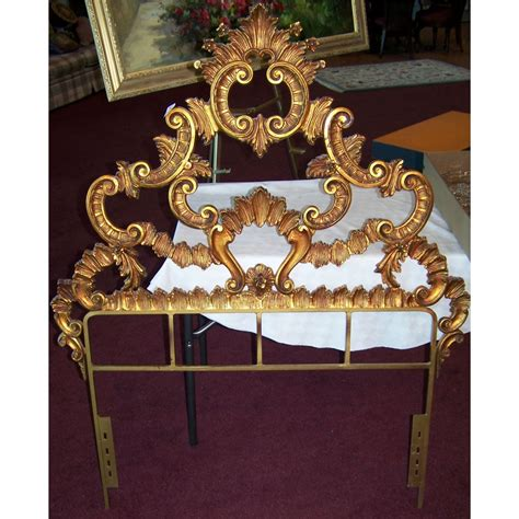 cast iron headboards two vintage cast iron twin bed headboards