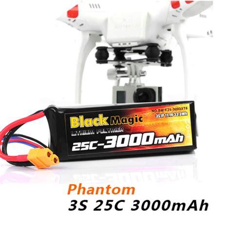Batre Dji Phantom 3s Blackmagic 3s 25c 3000mah 11 1v Battery For Dji Phantom Cx