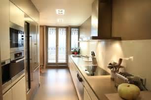 une cuisine couloir tr 232 s design inspiration cuisine