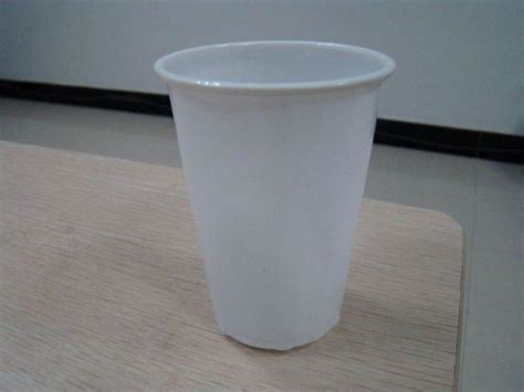 china 500ml white disposable plastic cup china cup
