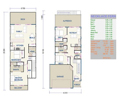 duplex floor plans for narrow lots beautiful small duplex house plans 7 small narrow lot