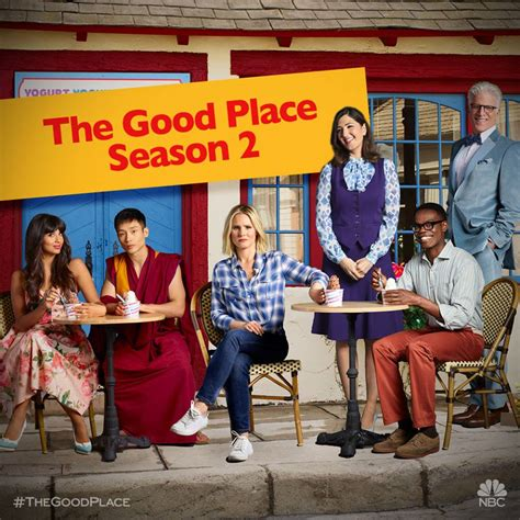 The Season 2 Premiere Recap Out With The by The Place Season 2 Spoilers News Show Creator