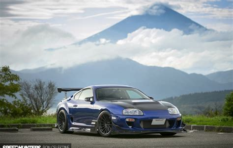 wallpaper tuning mountain japan toyota supra images