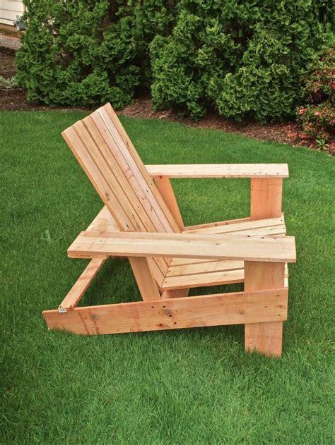 easy economical diy adirondack chairs   steps