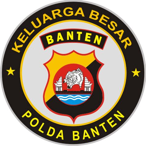 Stiker Polda Kalimantan Timur stiker polda banten kumpulan logo indonesia