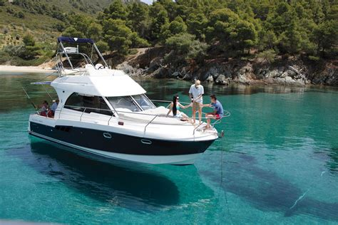 charter boat fishing greece rent a yacht in halkidiki beneteau antares 9 80 suncruise