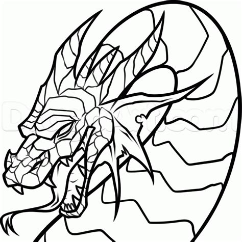 chinese dragon coloring pages easy chinese dragon head coloring page clipart best