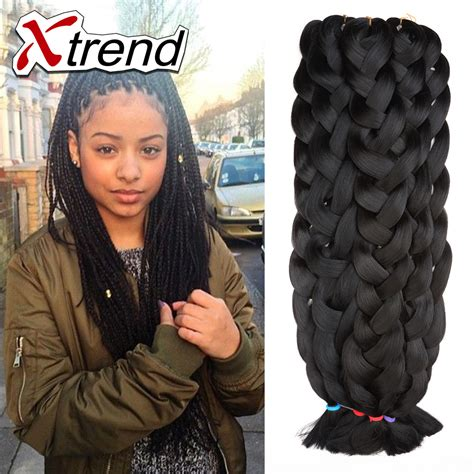 expression hair for braids what is the cost 42 165g cheapest black kanekalon jumbo braiding hair box