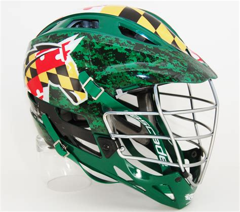 design lacrosse helmet decals stevenson university men s lacrosse custom helmet decals
