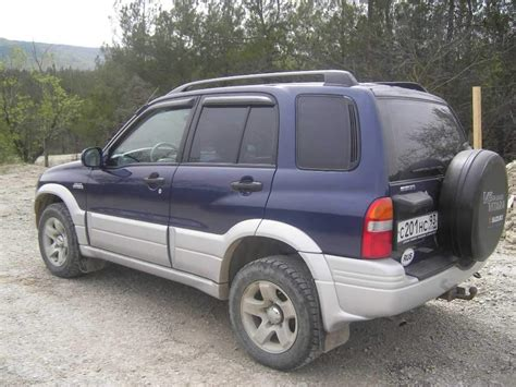Problems With Suzuki Grand Vitara 2000 Suzuki Grand Vitara Pictures 1 5l Gasoline Manual