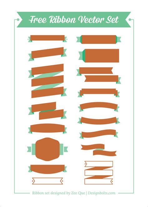 free ribbon vector banner set in ai eps cdr format free ribbon vector banner set in ai eps cdr format