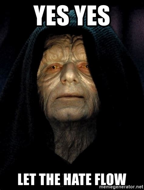 Star Wars Emperor Meme - star wars emperor palpatine meme pictures to pin on