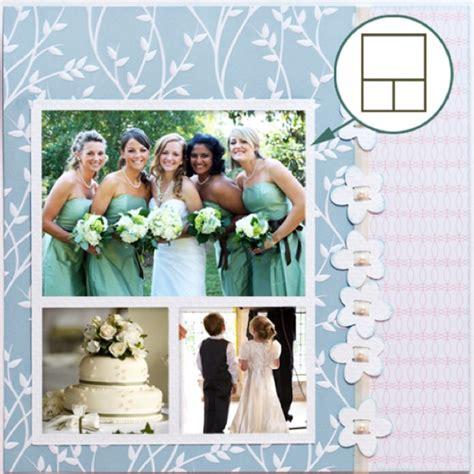 scrapbook layout ideas for engagement wedding layout scrapbook pinterest