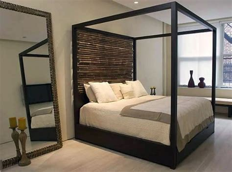 custom canopy bed aguirre design custom made canopy bed with hand tied bamboo custom made beds and