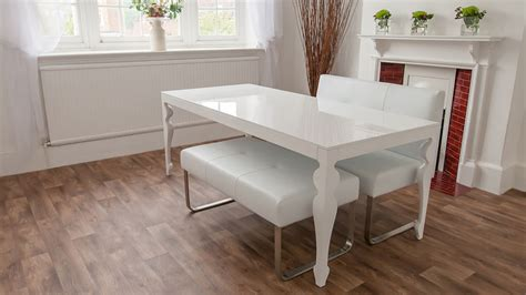 white dining bench white dining bench modern white leather bench metal legs