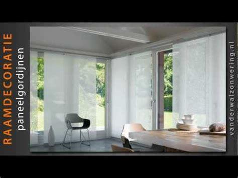 paneelgordijnen ikea paneelgordijnen van der wal zonwering product video