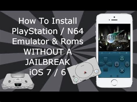 install playstation  emulators   jailbreak