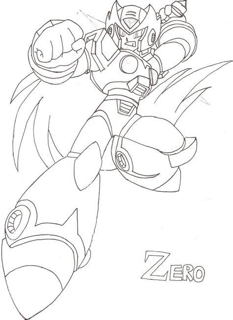 Mega X Sketches by Dibujos Para Pintar De Megaman X Dibujos Para Pintar