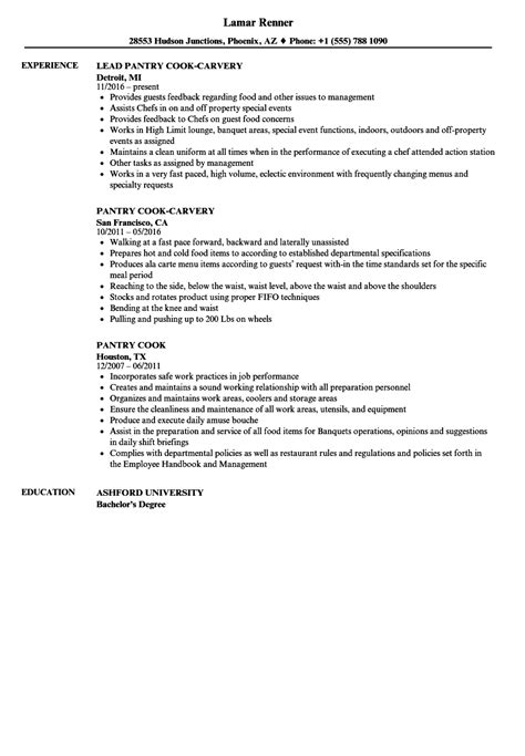 Pantry Cook Resume by Delighted Resume Cook Ideas Resume Ideas Namanasa