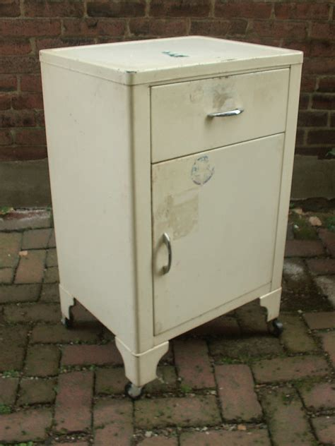 vintage 1940 s kitchen cabinet on wheels medicine by