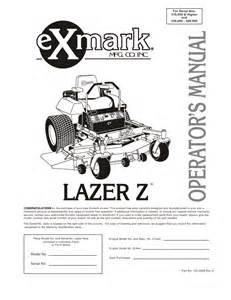 wiring diagram for a exmark zero turn mower get free
