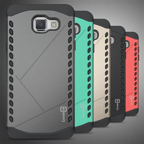 Samsung Galaxy A5 2016 Anti Knock Slim Hybrid Rugged Casing Bagus for samsung galaxy a5 2016 a510 slim grip hybrid protective phone cover ebay