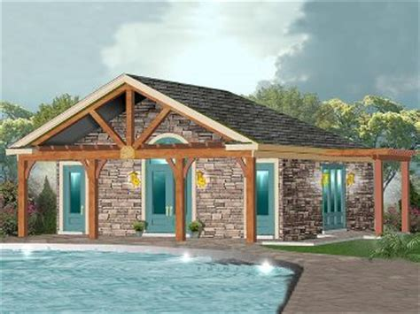 Pool House Plans With Garage by Pool House Garage Plans Home Design And Style