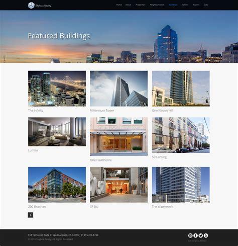 house rentals websites website design for realtors skybox realty zen den web