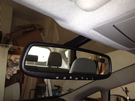 Kia Homelink Satellite Receiver By Rearview Mirror And Magnets Priuschat