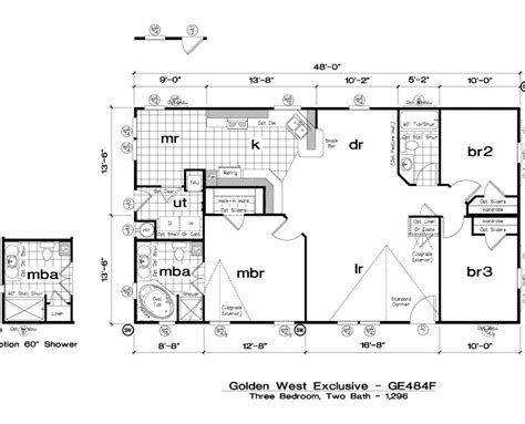 golden west homes floor plans golden west exclusive floorplans 5starhomes manufactured