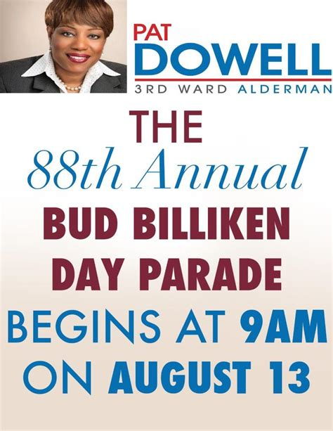 billiken time bud billiken start time change dowell