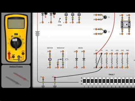 circuit board simulator a software version of electric circuit building testing