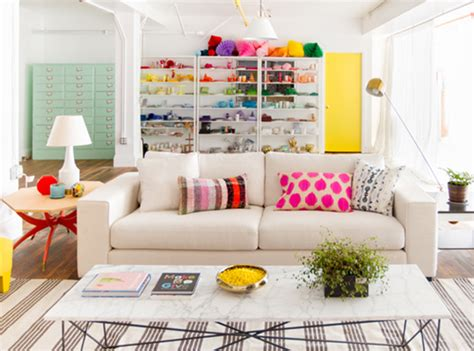 this bright cheerful studio is an instant mood booster this bright cheerful studio is an instant mood booster
