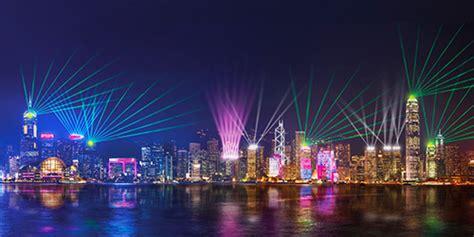 hong kong light show a symphony of lights hong kong tourism board
