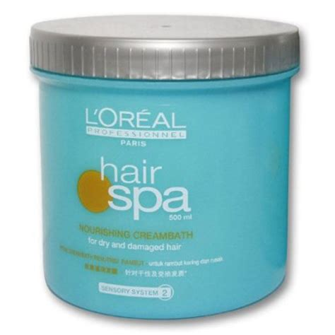 Loreal Hair Spa Creambath l oreal hair spa nourishing creambath 500 ml