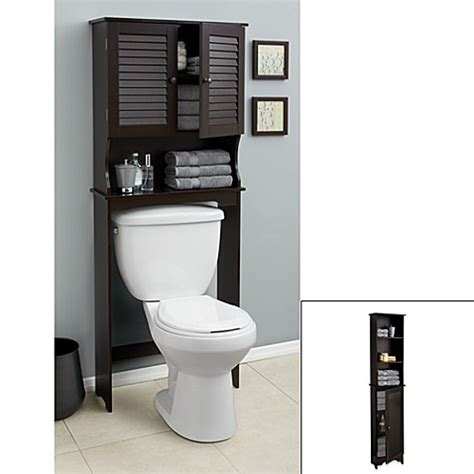 espresso bathroom furniture louvre bath furniture in espresso bed bath beyond