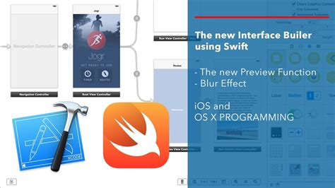 xcode tutorial interface builder apple swift tutorial preview in interface builder and
