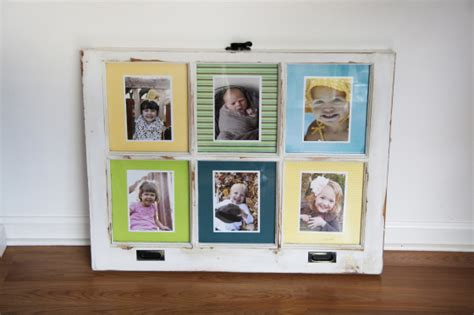 diy window pane picture frame  ideas guide patterns